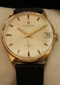Vintage Armbanduhr Junghans – Handaufzug - Cal. 620.12 – mit Datum