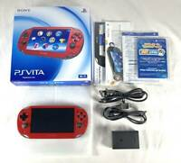 Sony PlayStation PS Vita Cosmic Red PCH-1000 ZA03 DHL Game Console