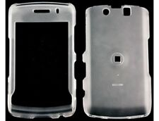 Rubber Coated Case Clear For BlackBerry Storm 2 9550