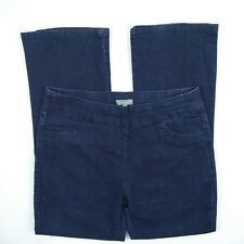 Suzanne Grae - Blue High Elastic Waist Stretch Denim Jeans Women's Size 12