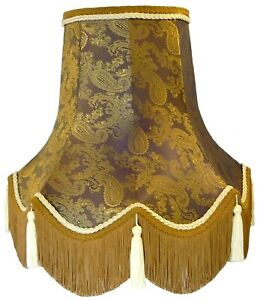 Lilac Purple Paisley Table Floor Standard Lamp Lampshade Ceiling Wall Lights