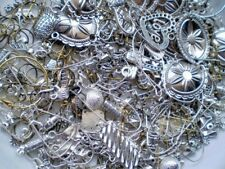 1/2 POUND METAL HUGE MIX Findings Beads connectors Jewelry Making Supplies 8oz