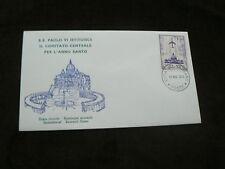 1973 VATICANO Copertina: SS PAOLO VI, posta aerea
