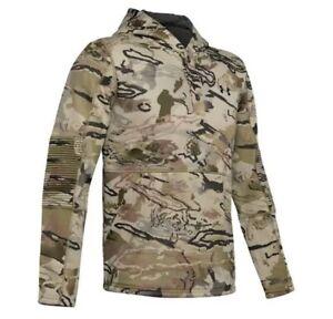 Under Armour UA Storm Barren Camo Rut Fleece Hunting Hoodie Mens Size Medium New