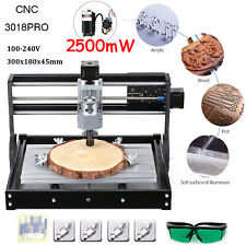 Diy Cnc Router Kit 2in1 Laser Engraving Machine Grbl Control 3 Axis 300x180x45mm