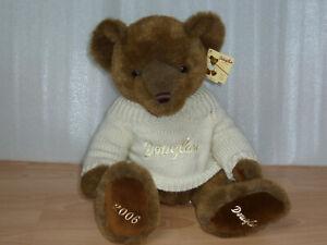 Douglas Teddy 2006 Bär 35/48 cm Neu Vitrine