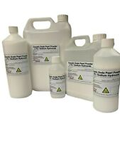 More details for caustic soda - sodium hydroxide / lye - 99% for drains, soaps naoh 100g to 25kg