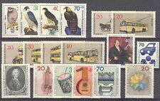 BUNDESPOST BERLIN - 1973 complete year MNH