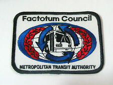 Factotum Council Metro Transit  Bus Patch (#3059)