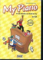 My Piano - 30 tolle Melodien von Klassik bis Pop - Mit CD