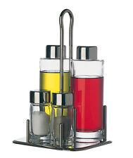 Piazza Effepi - Servizio olio, aceto, sale, pepe 4 pezzi