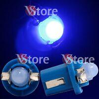 2 LED Per Cruscotto Quadro Strumenti T5 B8.5D COB BLU SMD Lampade Lampadine