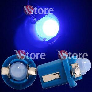 2 LED Pour Tableau de Bord T5 B8.5D Cob Bleu SMD Ampoules