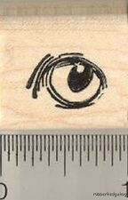 Cat Eye Rubber Stamp A11805 WM
