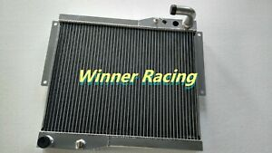 FIT MG MGB GT/ROADSTER 1977 1978 1979 1980 ALUMINUM ALLOY RADIATOR