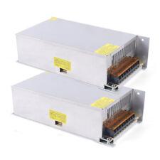 Ac 110v220v Dc 12v 50a Switch Power Supply Driver Adapter Led Strip Light 2pcs
