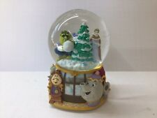 "Disney Enesco Beauty And The Beast Snowglobe ""MINUET NO. 1"" Snow Globe Music Box"