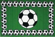 "Fun Rugs Fun Time Collection Soccer Time Area Rug 39"" x 58"""
