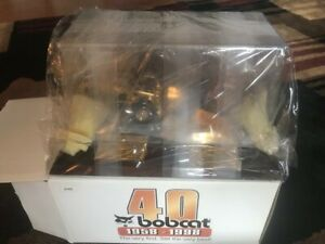 Rare 40th Gold Anniversary Bobcat Loaders Diecast Models Scale 1:25