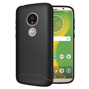 for Motorola Moto E5 Play, TUDIA Full Matte ARCH S TPU Case Cover