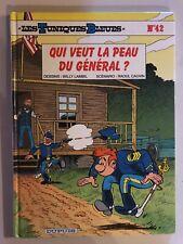 BD Les Tuniques Bleues Qui Veut La Peau Du Général Dupuis Lambil Cauvin EO 1999