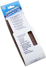 Silverline Sanding belts 75 x 457mm 5pk (v6g)