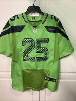 NFL Seattle Seahawks Richard Sherman #25 Nike On Field 12th Man Jersey Men's M