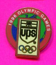 1996 OLYMPIC UPS PIN UPS OFFICIAL SPONSOR PIN GLOBE Atlanta Games Pin