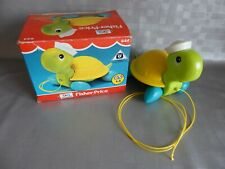 jouet tortue à tirer FISHER PRICE / vintage