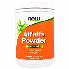 NOW FOODS ALFALFA POWDER NATURAL BODY CARE HEALTHY DIETARY SUPPLEMENT DAILY