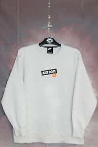 NIKE Y2K VINTAGE CENTRE SPELL OUT SWEATSHIRT,RETRO,SIZE:LARGE