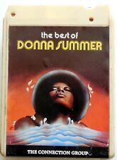 CARTRIDGE TRACK TAPE CASSETTA STEREO 8 THE BEST OF DONNA SUMMER CONNECTION GROUP