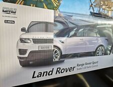 Model remote control Range Rover Sport by Land Rover, Scale 1:18, High spec.