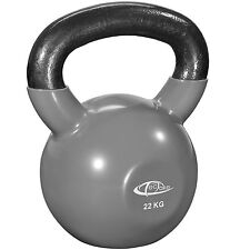 Kettlebell formazione Bollitore Bell peso con maniglia ginnastica Fitness 22kg