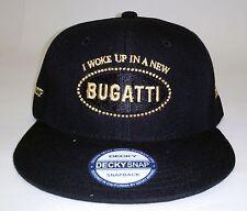 Hip Hop Snapback  Hat Woke Up In a New Bugatti  - Urban Street wear