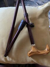 Classic Bronze  Coloured Walking Stick Fold Up Adjustable