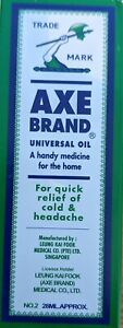 Axe Brand Universal Oil 28ml Pain Relief Singapore Medicated Oil - UK