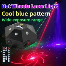 Laser Bühnenlicht RGB Projektor Lasereffekt DMX DJ Club Party Show Disco Remote