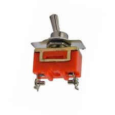 12 mm SPST Encendido/Apagado 2 Pin Palanca interruptor AC 250V 15A Práctico