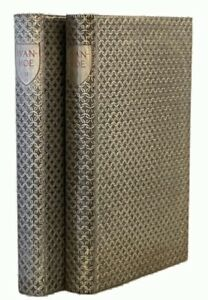 """Ivanhoe LIMITED EDITIONS CLUB (1940) """"Chain Mail"""" Binding"""
