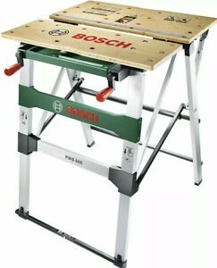 BOSCH Heavy Duty Mobile Workbench Work Bench PWB 600 Foldable Large Size 1 YRWTY
