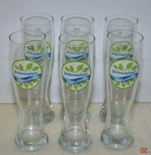 WEIHENSTEPHANER Bavaria Pilsner Beer Glass WHITE HOPLOSION SAHM 0,5l - lot of 6
