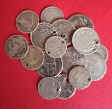 Old Early US Silver CULL Coins Seated Liberty Dimes / 90% Silver // 1 COIN