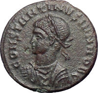Constantine II Constantine the Great  son Ancient  Roman Coin Wreath  i28328