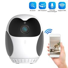 Smart Camera Security Cam 1080P HD WiFi for Baby Pet Nanny with SD Card Slot