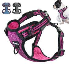 Front Clip Dog Harness Reflective Adjustable Pet Mesh Vest Jack Russell Bulldog