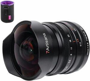 7artisans 10mm f2.8 Fisheye Ultra Wide Angle Full-frame Lens for Nikon-Z mount