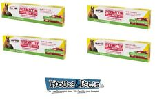 Horse Wormer Equine Ivermectin 4 Tubes Durvet 1.87% Apple Flavored Paste