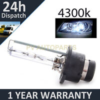 D2S WHITE XENON HID LIGHT BULB HEADLIGHT HEADLAMP 4300K 35W FACTORY OEM FITTED 2