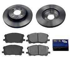 Front Ceramic Brake Pad Set & Rotor for 2004 Honda Civic COUPE-SEDAN-DX-EX-GX-LX